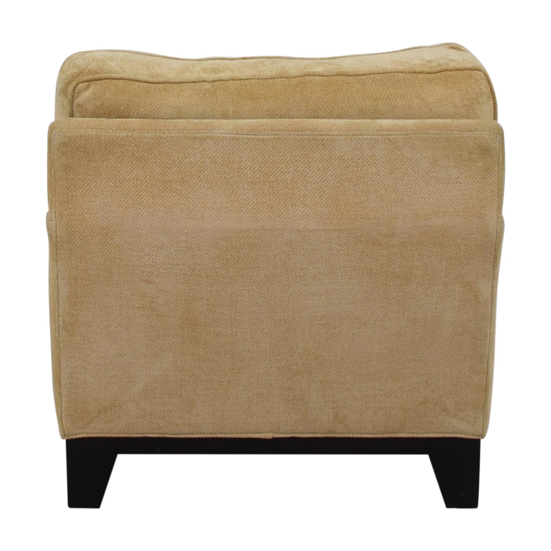 Williams Sonoma Williams Sonoma Beige Accent Chair second hand