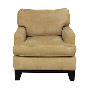 shop Williams Sonoma Beige Accent Chair Williams Sonoma