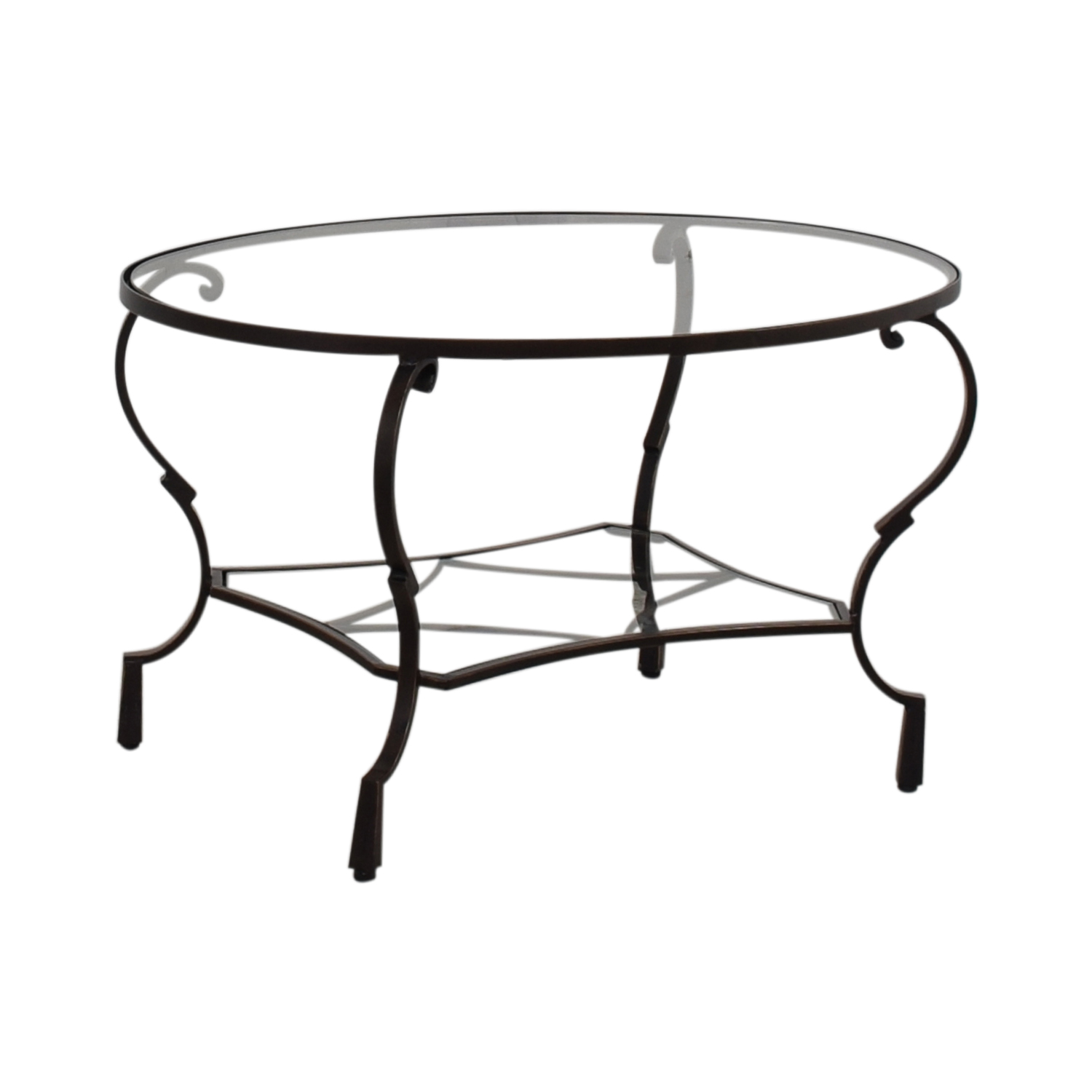 Strange 82 Off Pier 1 Pier 1 Glass Top Brown Oval Coffee Table Tables Pdpeps Interior Chair Design Pdpepsorg