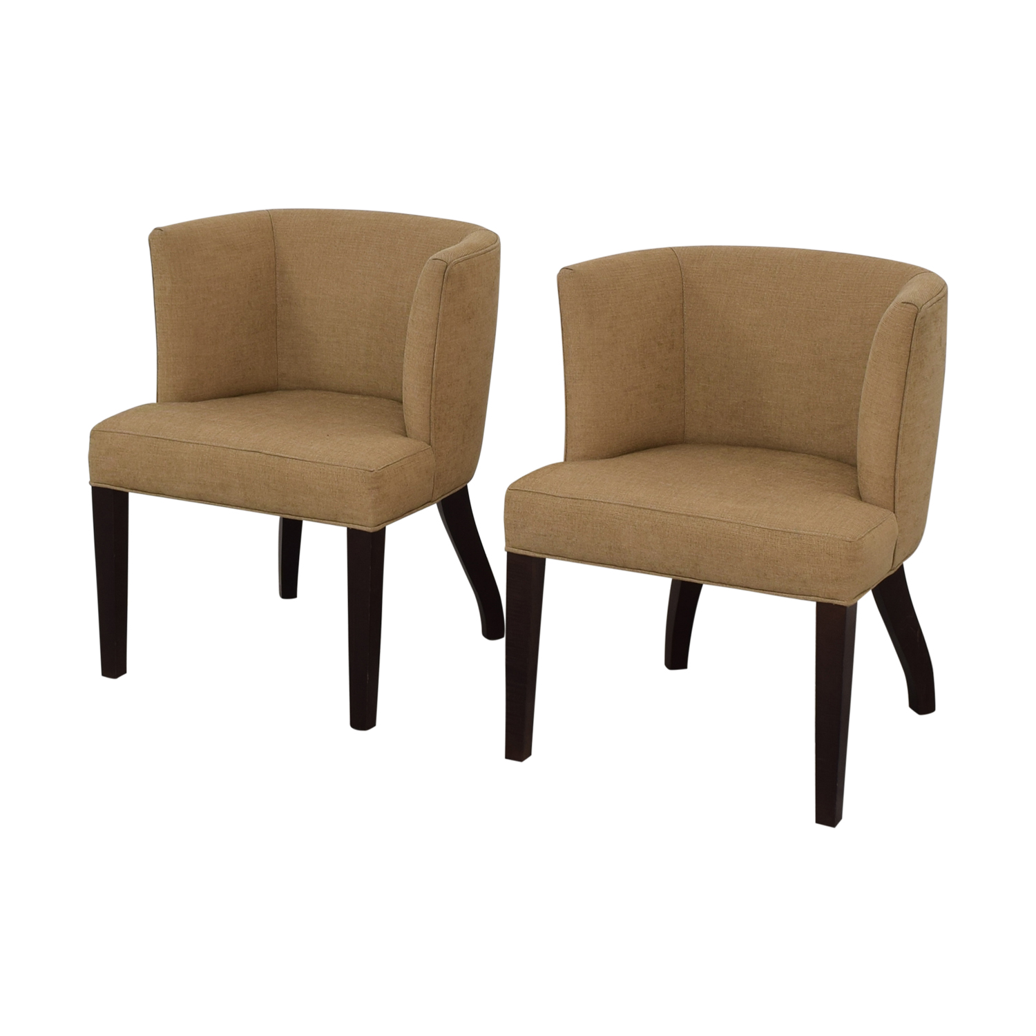 Thayer Coggin Kate Beige Dining Chairs sale