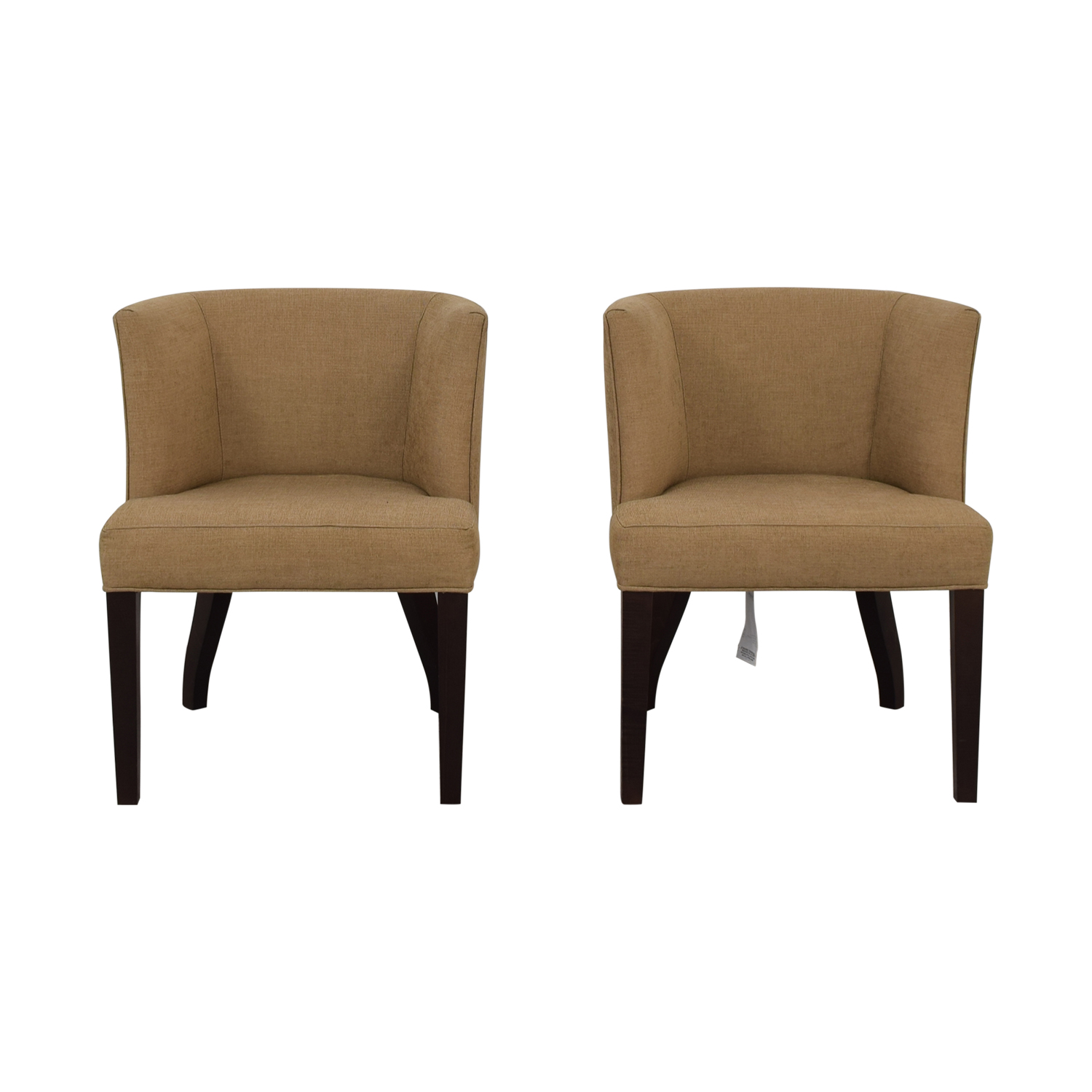 Thayer Coggin Thayer Coggin Kate Beige Dining Chairs discount