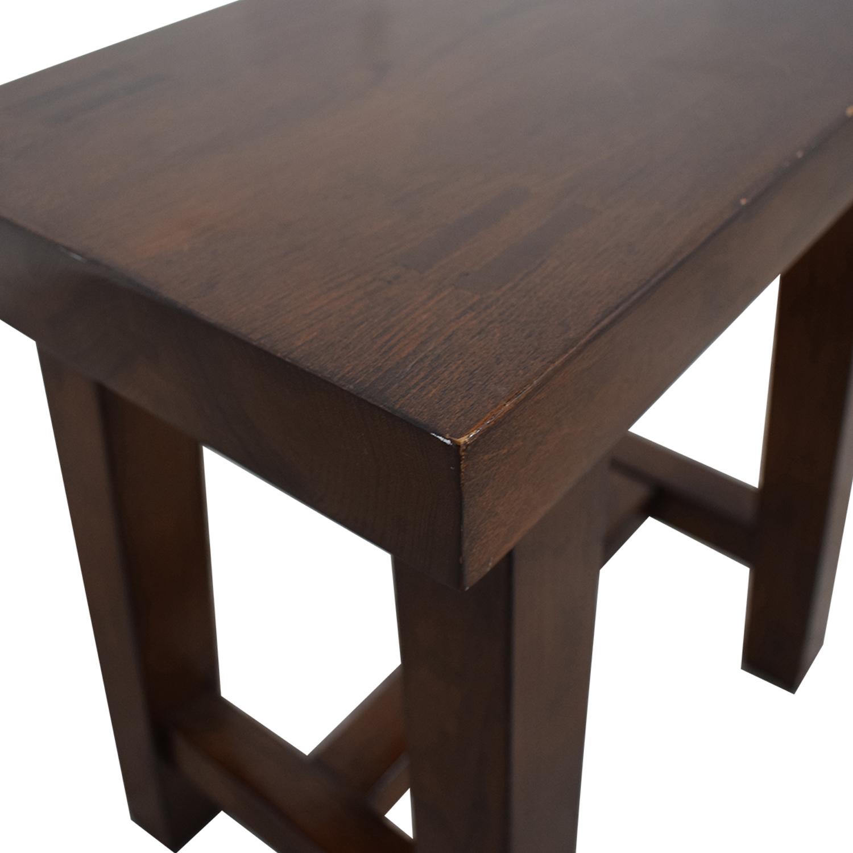buy Room & Board Maria Yee Foot Stool Room & Board Chairs