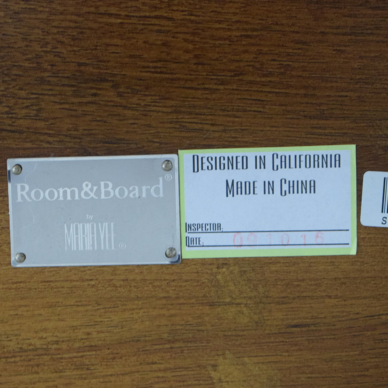Room & Board Room & Board Maria Yee Foot Stool brown