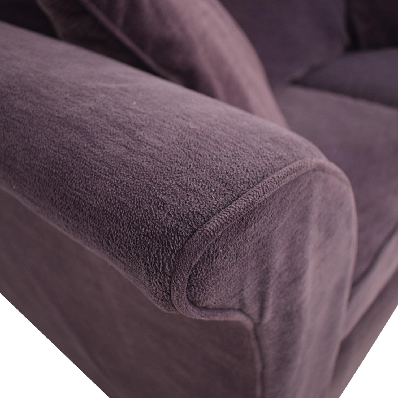 Bauhaus Furniture Bauhaus Furniture Plum Two-Cushion Loveseat second hand