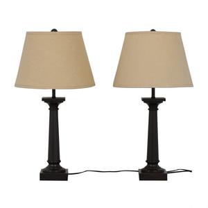 Restoration Hardware Restoration Hardware Table Lamps Set on sale