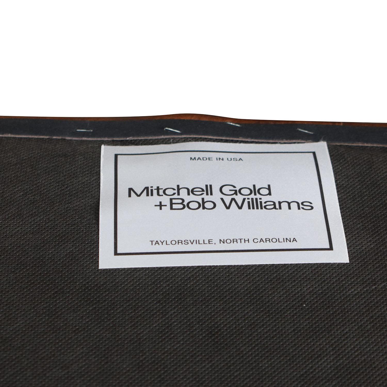Mitchell Gold + Bob Williams Mitchell Gold + Bob Williams Chesterfield Cognac Tufted Sofa nj