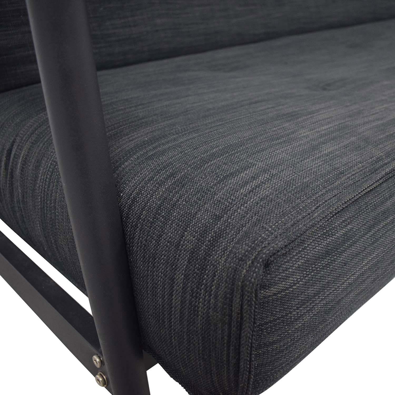 BoConcept BoConcept Kyoto Gray Tufted Full Sofa Bed
