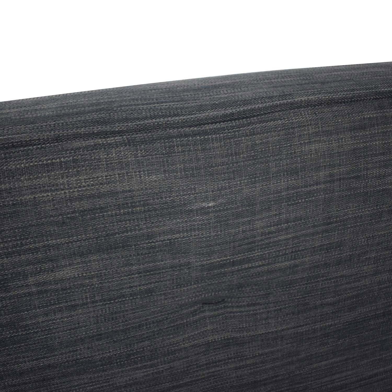 shop BoConcept Kyoto Gray Tufted Full Sofa Bed BoConcept Sofas
