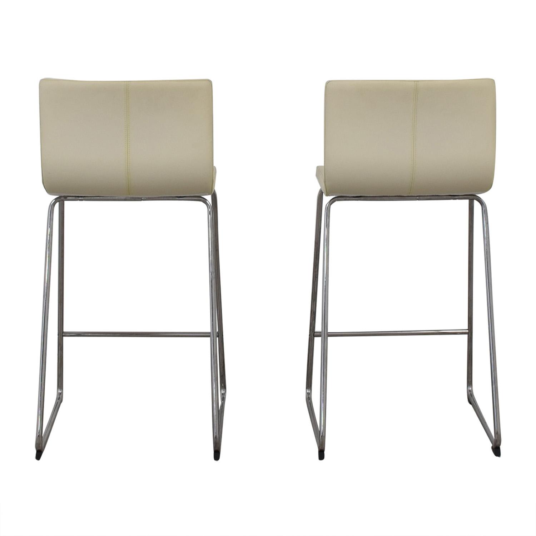 IKEA Berhard Eggshell Stools / Chairs