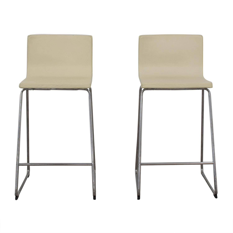 IKEA IKEA Berhard Eggshell Stools Chairs