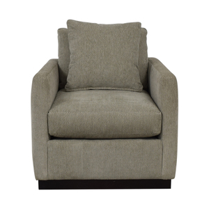 Robin Bruce Robin Bruce Allie Swivel Accent Chair second hand