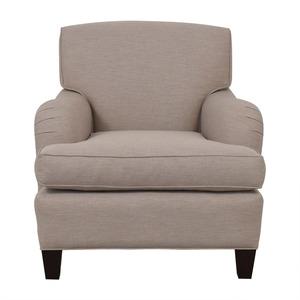 Burton James Almond Beige Accent Chair sale
