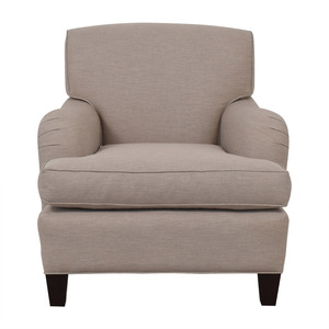 Burton James Burton James Almond Beige Accent Chair for sale