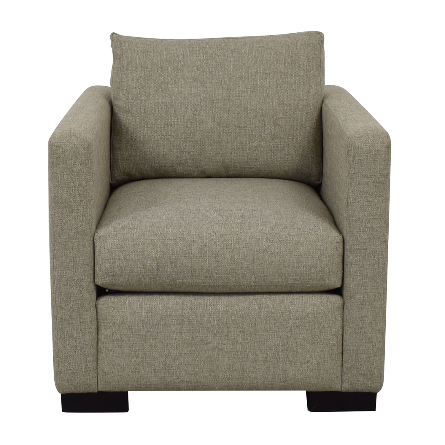Contemporary Beige Accent Chair used
