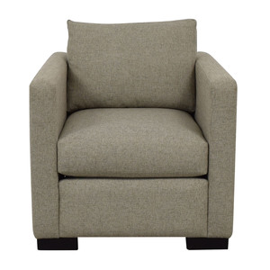 Contemporary Beige Accent Chair