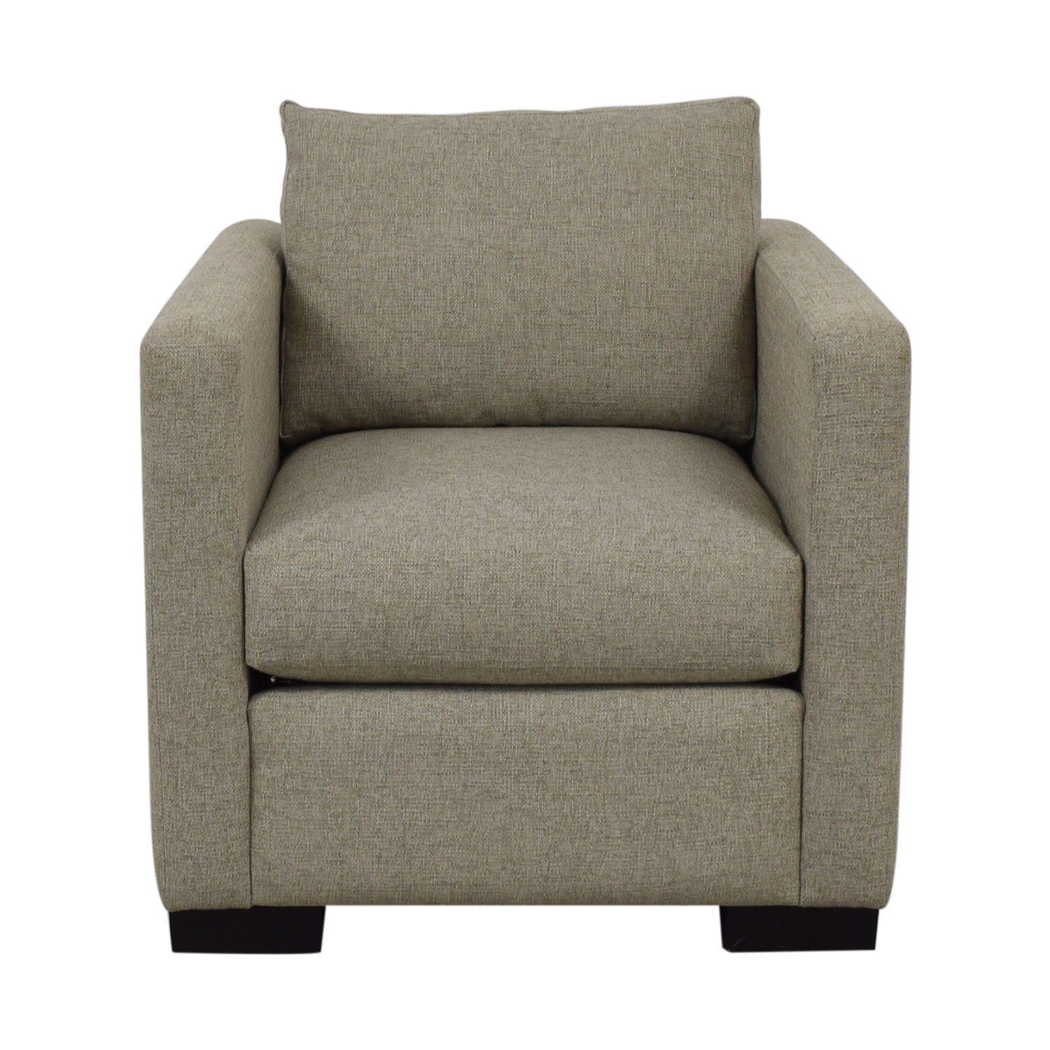 Contemporary Beige Accent Chair Accent Chairs