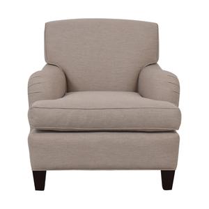 Burton James Burton James Almond Beige Accent Chair second hand