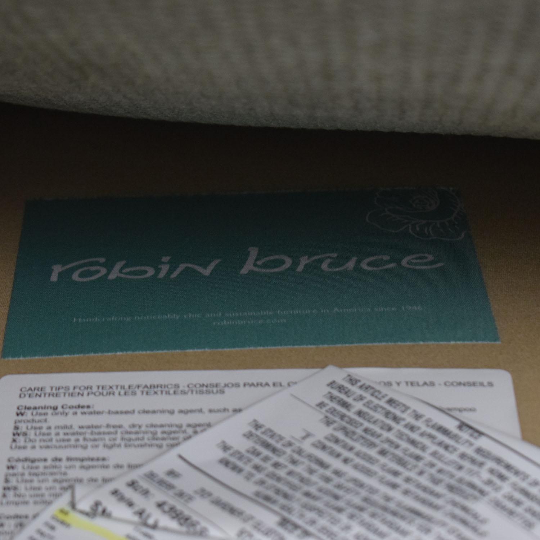 Robin Bruce Robin Bruce Allie Swivel Accent Chair dimensions