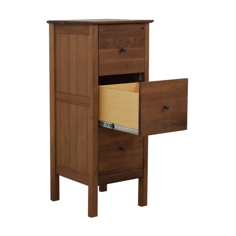 Crate & Barrel Three-Drawer Tall Dresser Crate & Barrel