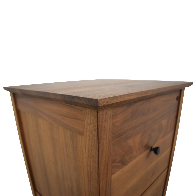shop Crate & Barrel Three-Drawer Tall Dresser Crate & Barrel
