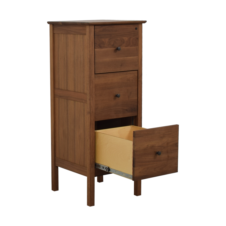 Crate & Barrel Crate & Barrel Three-Drawer Tall Dresser used