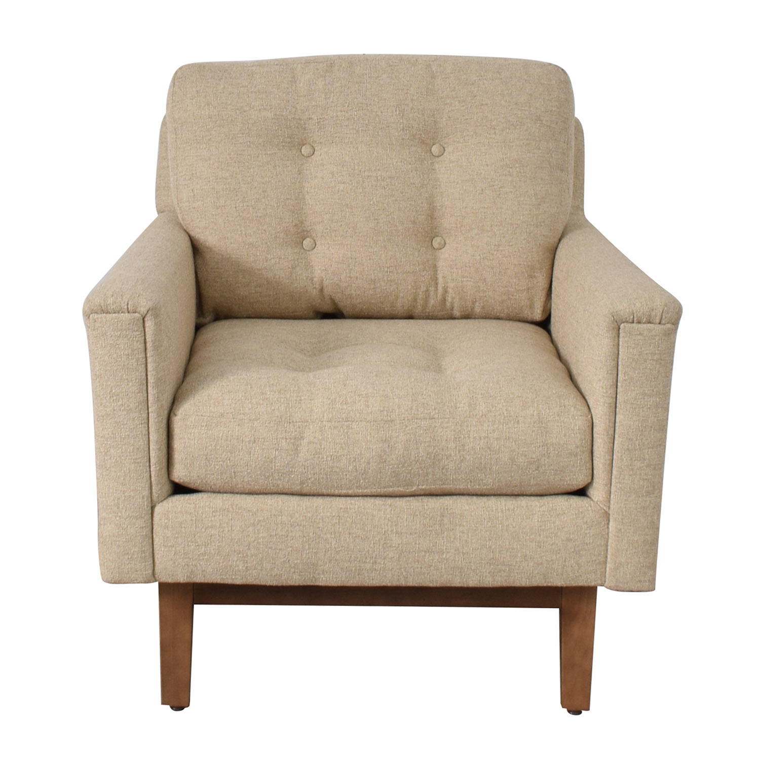 buy Rowe Furniture Ethan Beige Tufted Accent Armchair Rowe Furniture Accent Chairs