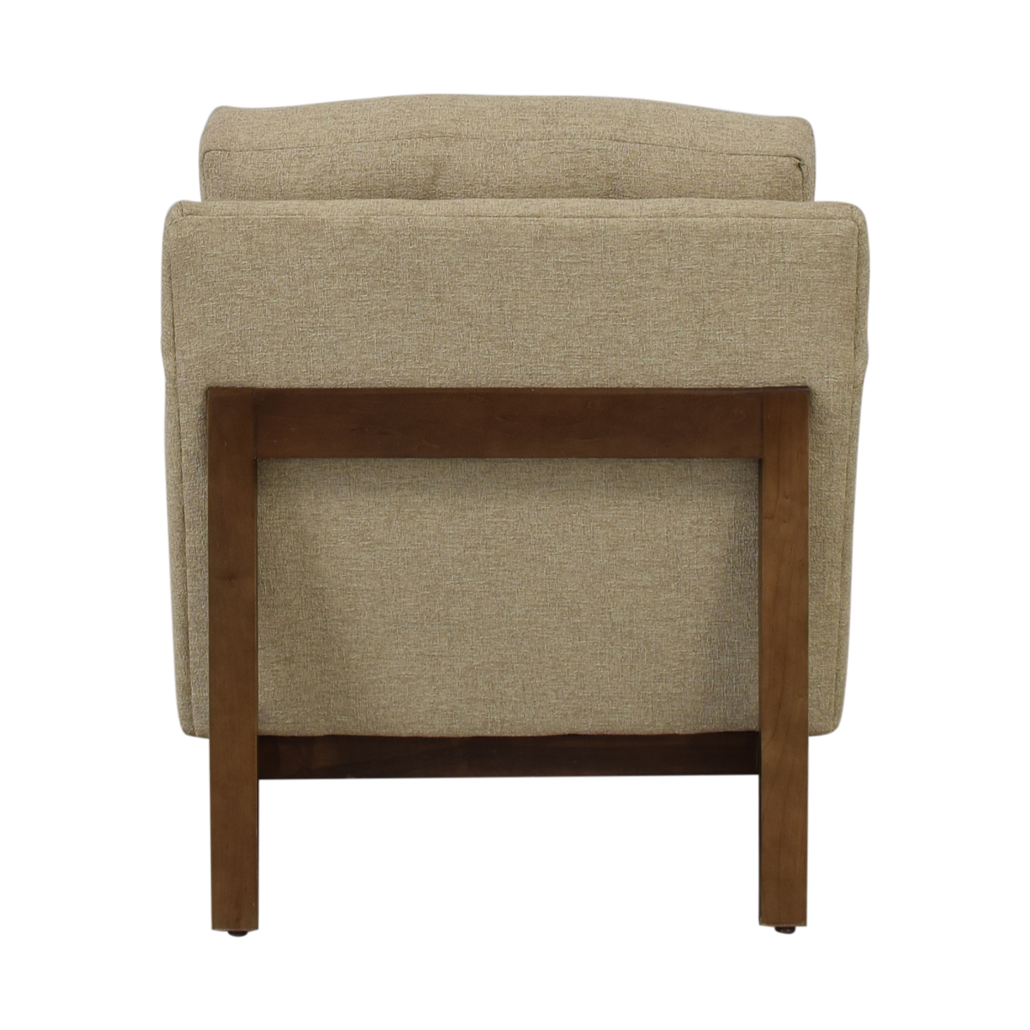 shop Rowe Furniture Ethan Beige Tufted Accent Armchair Rowe Furniture Accent Chairs