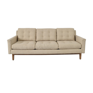 buy Rowe Furniture Beige Three Cushion Sofa Rowe Furniture Sofas