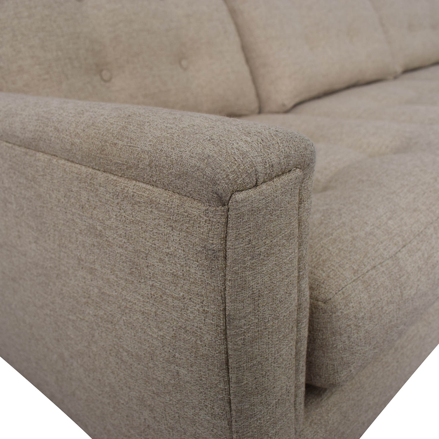 Rowe Furniture Rowe Furniture Beige Three Cushion Sofa nj