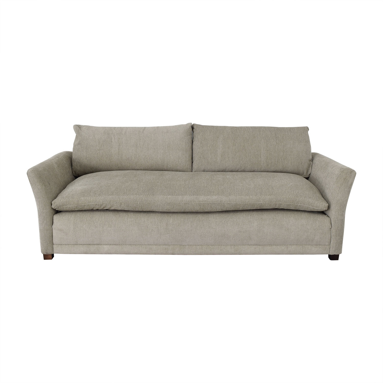 Grey Single Cushion Sofa for sale