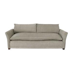 Grey Single Cushion Sofa / Sofas