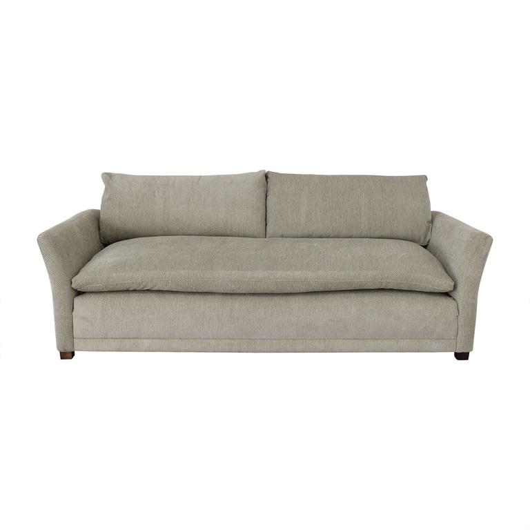 Grey Single Cushion Sofa coupon