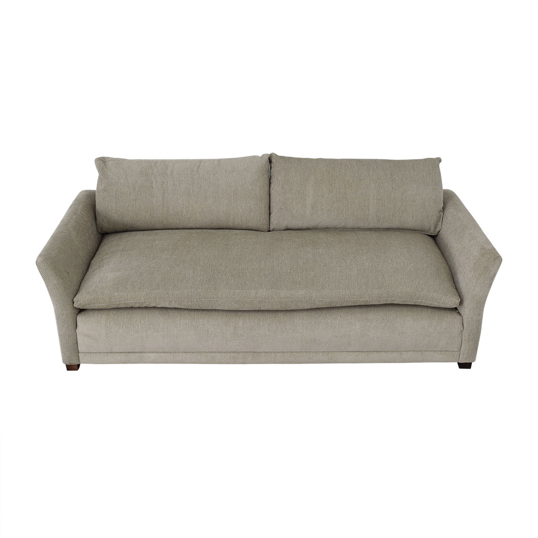 shop Grey Single Cushion Sofa
