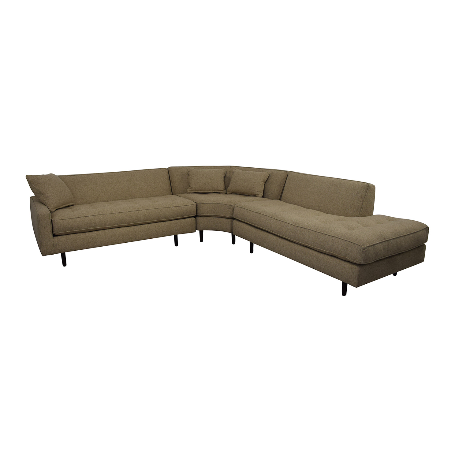 Rowe Furniture Rowe Furniture Brady Sectional Sofa Sectionals