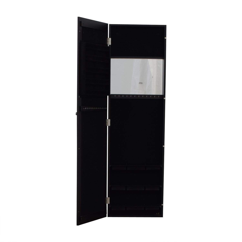 shop  Black Mirrored Jewelry Rack online