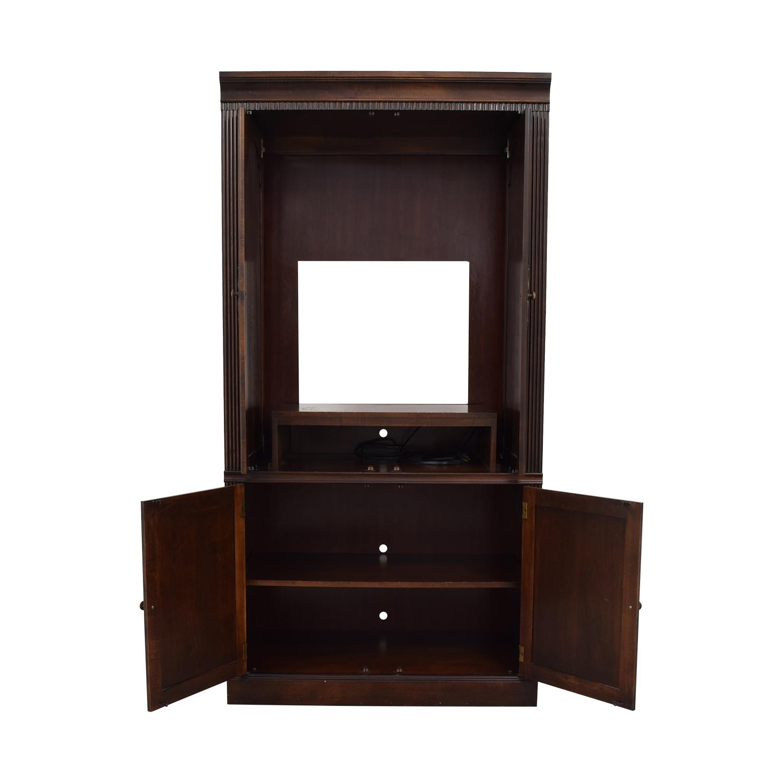 Ethan Allen Media Cabinet sale