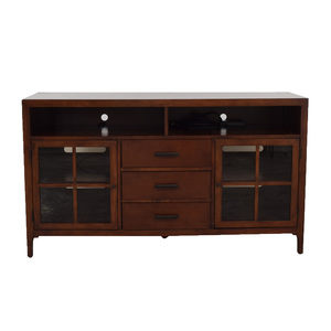 shop Bernhardt Maxwell Three-Drawer Entertainment Console Bernhardt