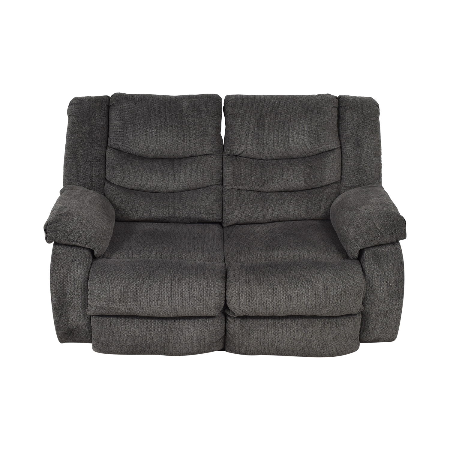 Ashley Furniture Ashley Furniture Gray Reclining Loveseat coupon