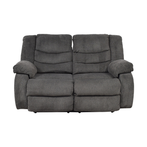 Ashley Furniture Ashley Furniture Gray Reclining Loveseat dimensions