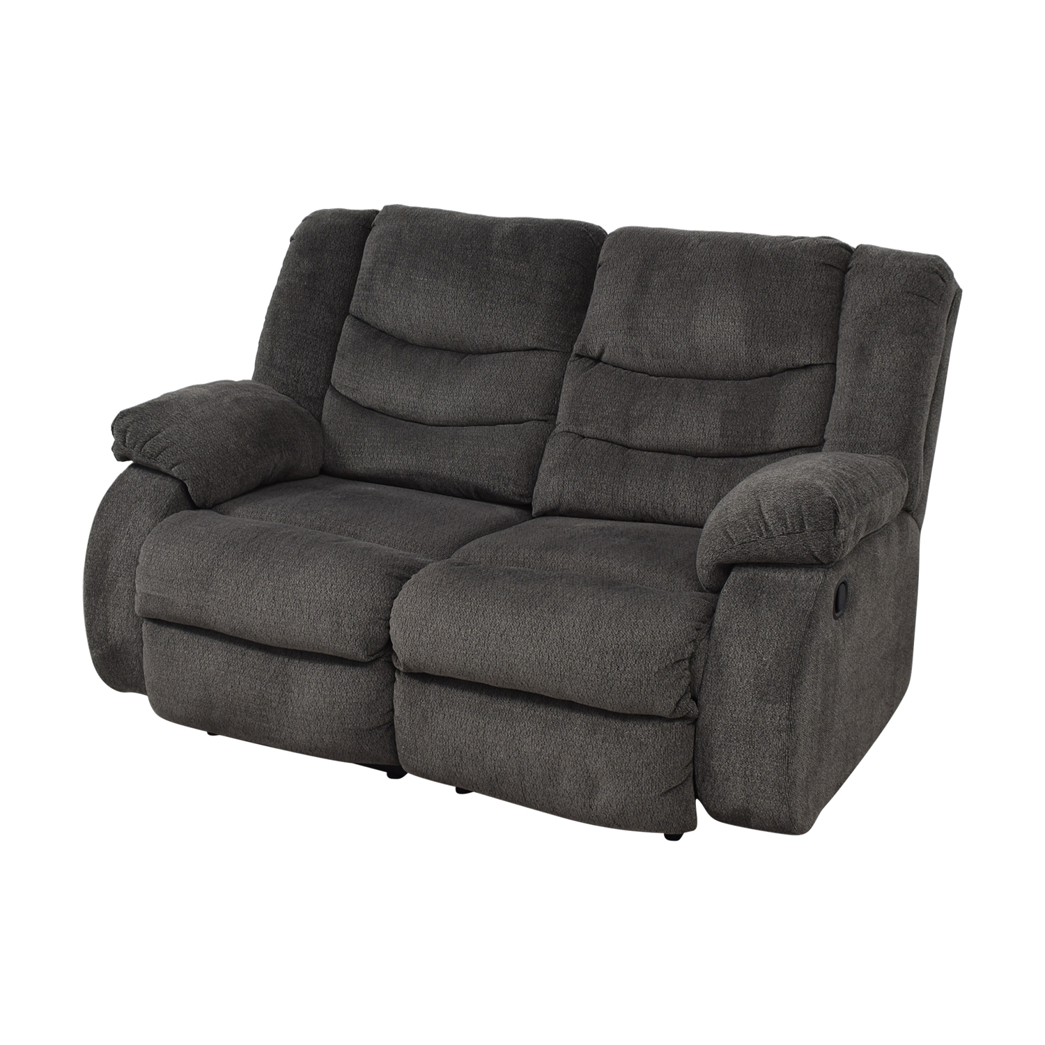 Ashley Furniture Ashley Furniture Gray Reclining Loveseat