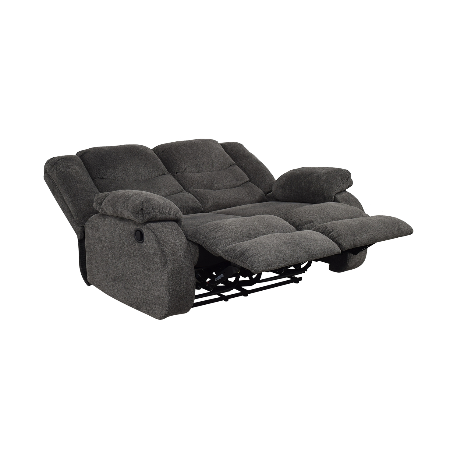 Ashley Furniture Gray Reclining Loveseat / Loveseats