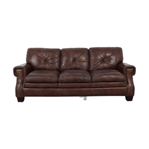 buy Bob's Discount Furniture Bob's Discount Furniture Kennedy Leather Sofa online
