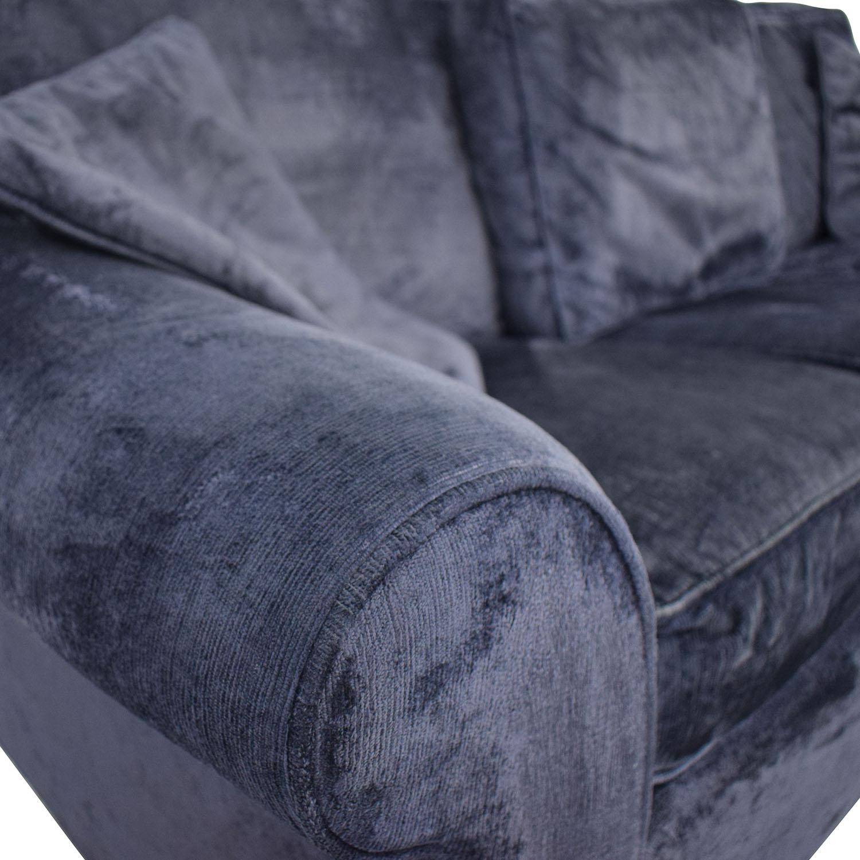 Crate & Barrel Crate & Barrel Sleeper Sofa dimensions