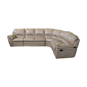 Beige L-Shaped Sectional coupon