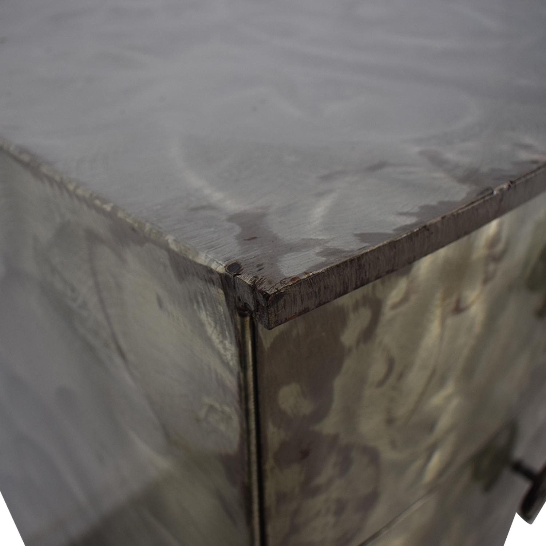 Metal Six-Drawer Tall Dresser sale