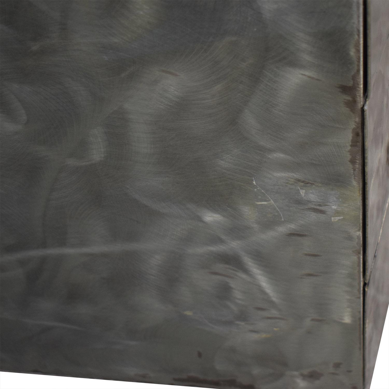 buy  Metal Silver Six-Drawer Dresser online