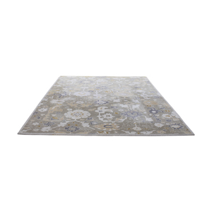 Floral Decorative Rug nyc