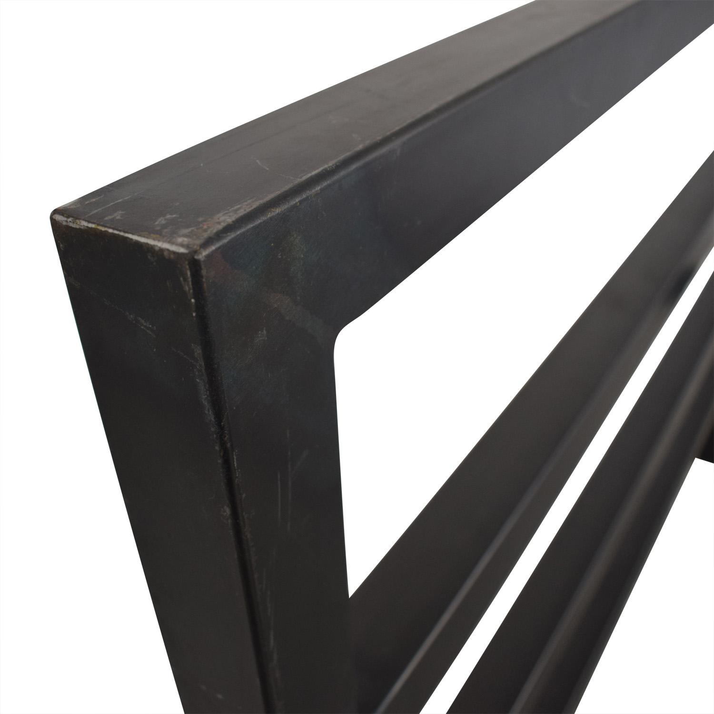 shop West Elm Queen Metal Bed Frame West Elm