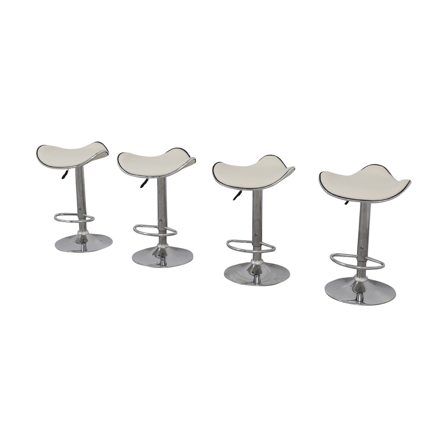 Houzz Houzz Adjustable Bar Stools second hand