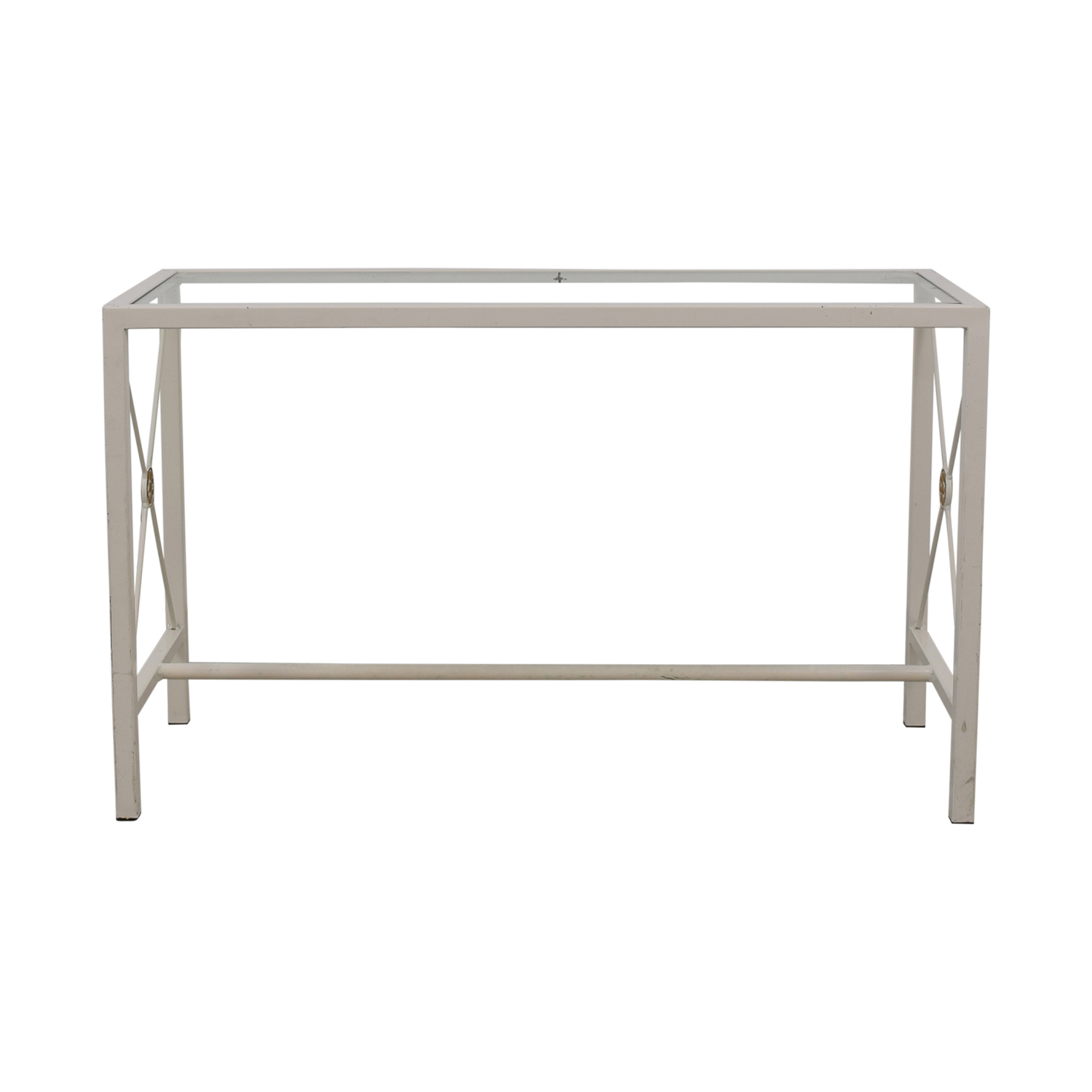 Overstock Overstock White Entry Table Tables